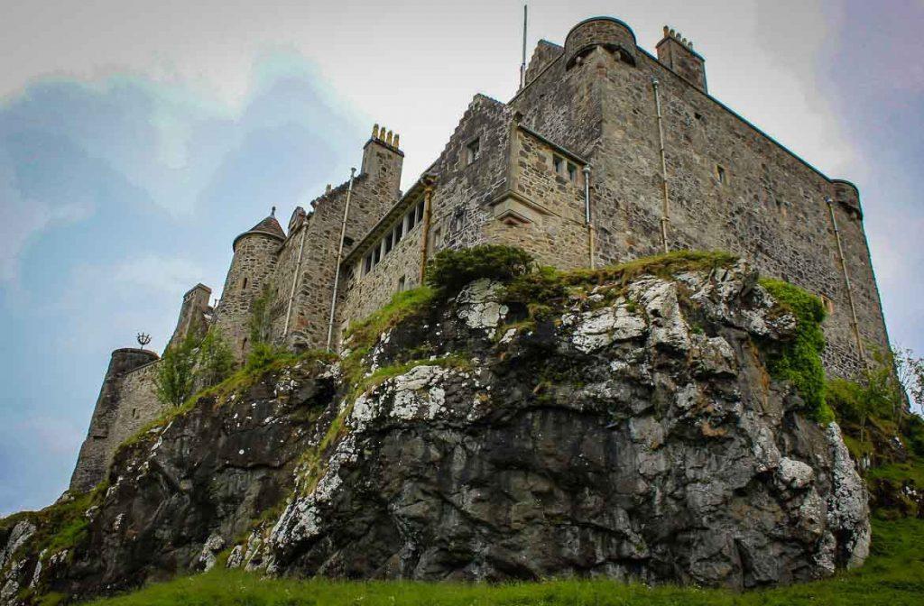 Castelo Duart, Ilha de Mull, Escócia