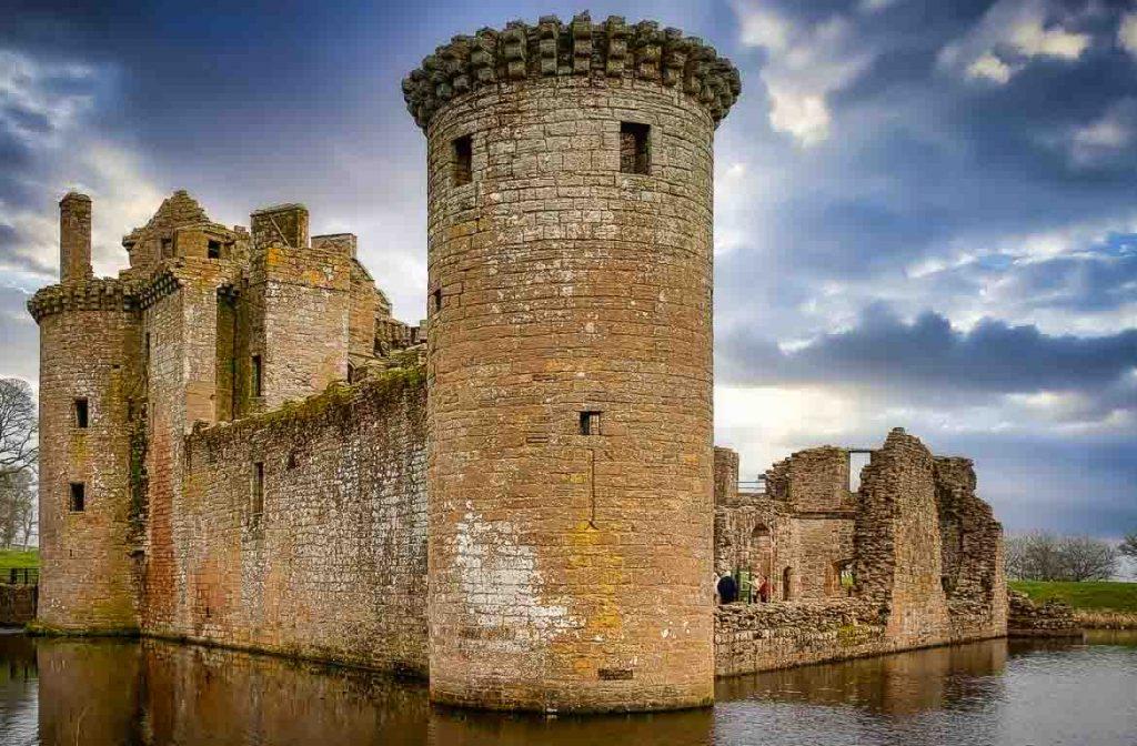 Castelo de Caerlaverock, Escócia