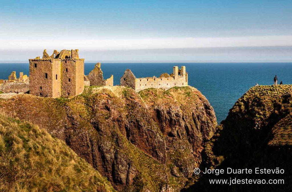 Castelo de Dunnottar, em Stonehaven, Escócia