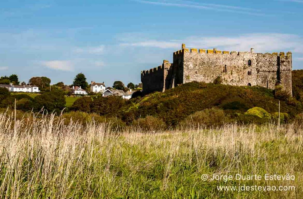 Castelo de Manorbier, País de Gales