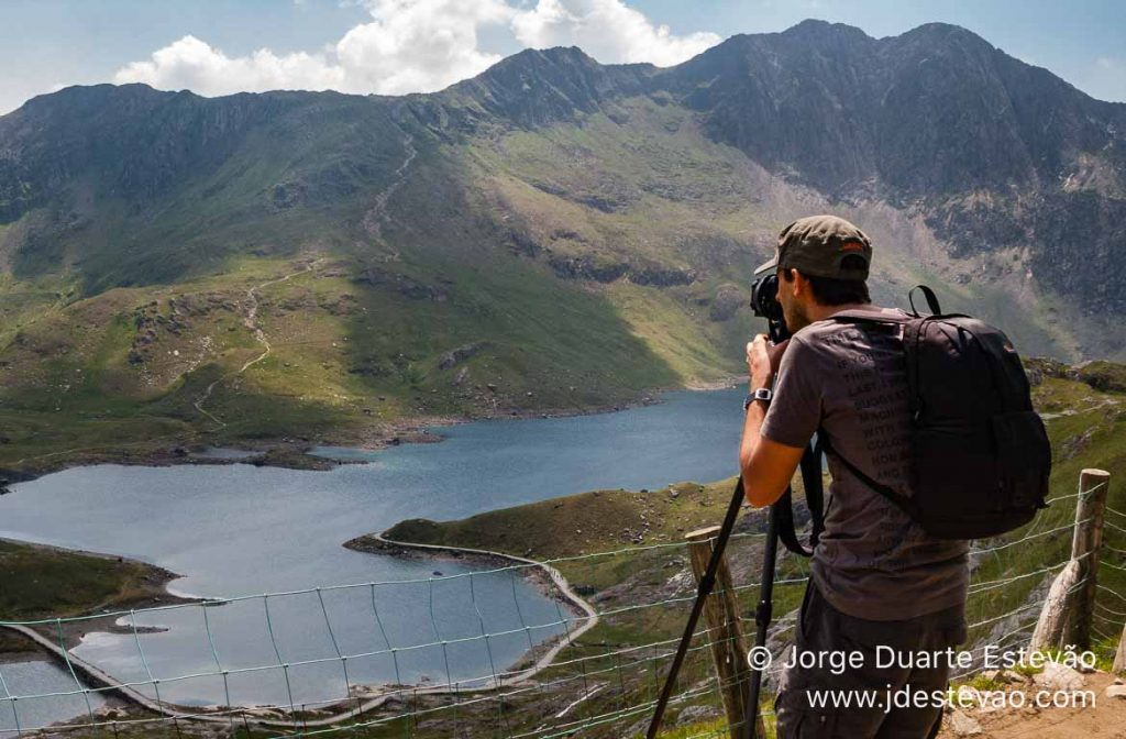 Fotografar Monte Snowdon, País de Gales