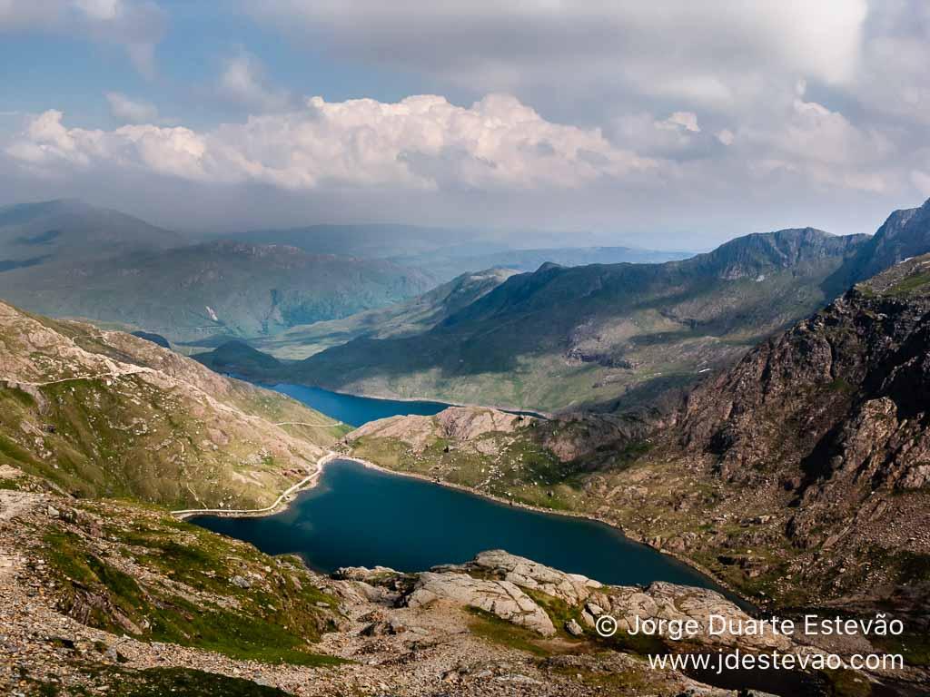 Lagos topo Monte Snowdon, Gales