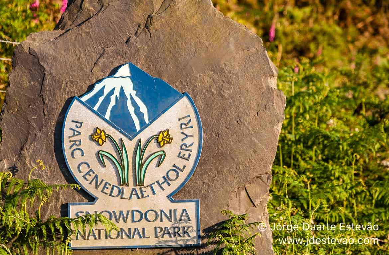 Placa Snowdonia, País de Gales