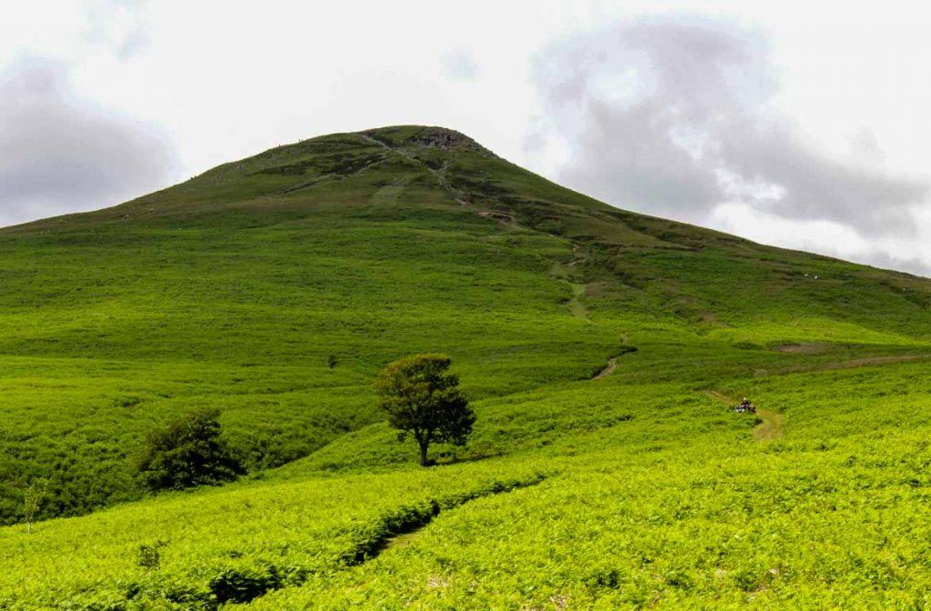 Sugar-Loaf, Brecon Beacons, Gales