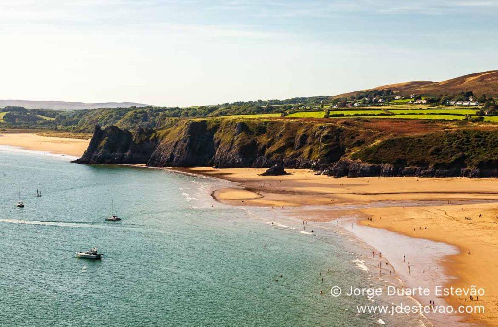 Three Cliffs Bay, Gales