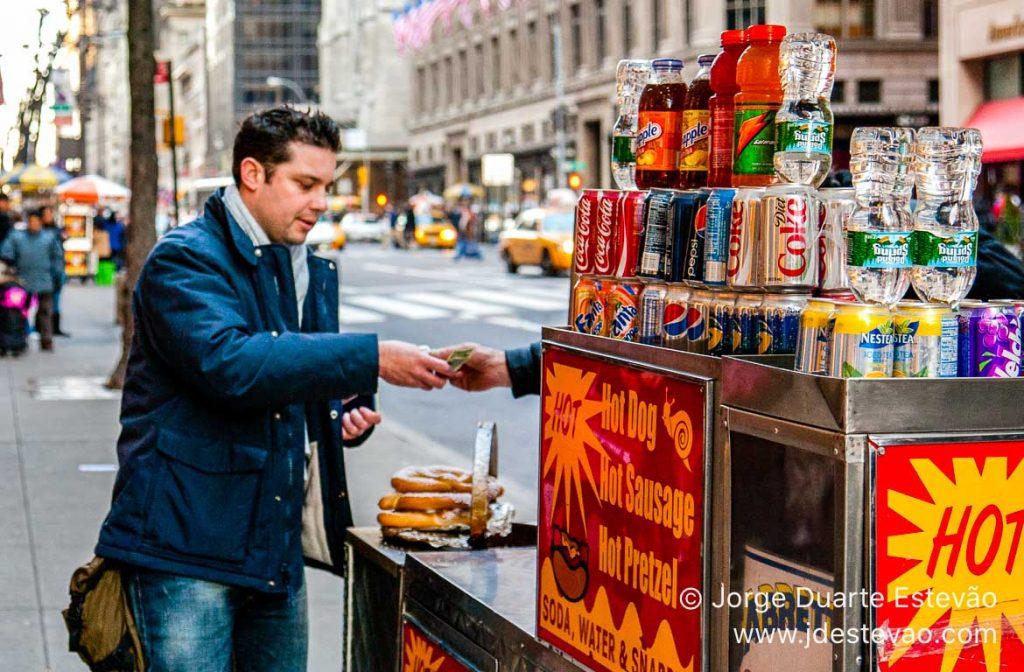 Bagels em Nova Iorque, EUA