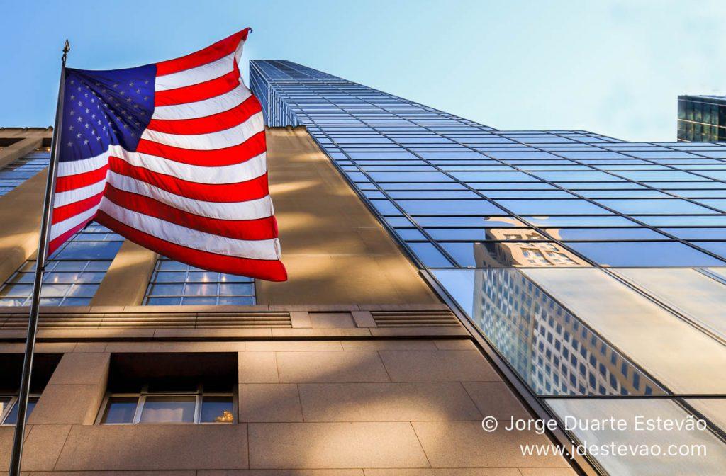 Bandeira dos EUA, Nova Iorque