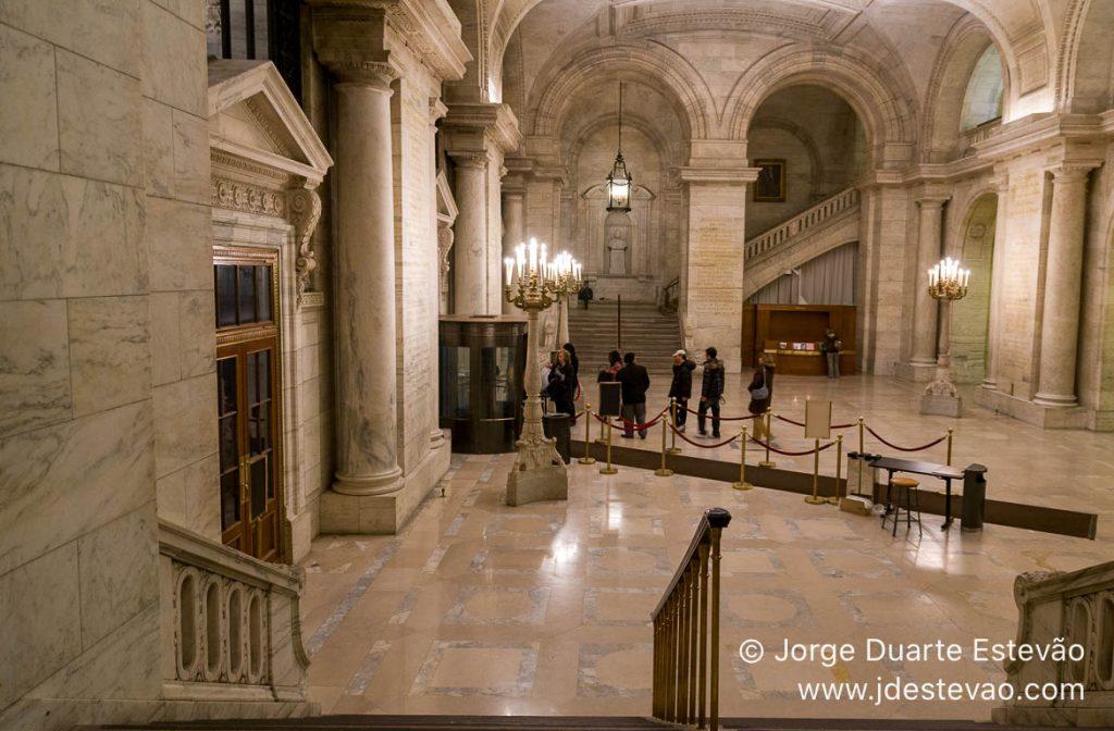 Biblioteca Pública de Nova Iorque, EUA