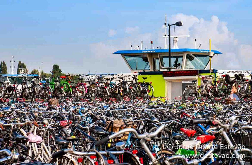 Bicicletas em Amesterdão, Holanda