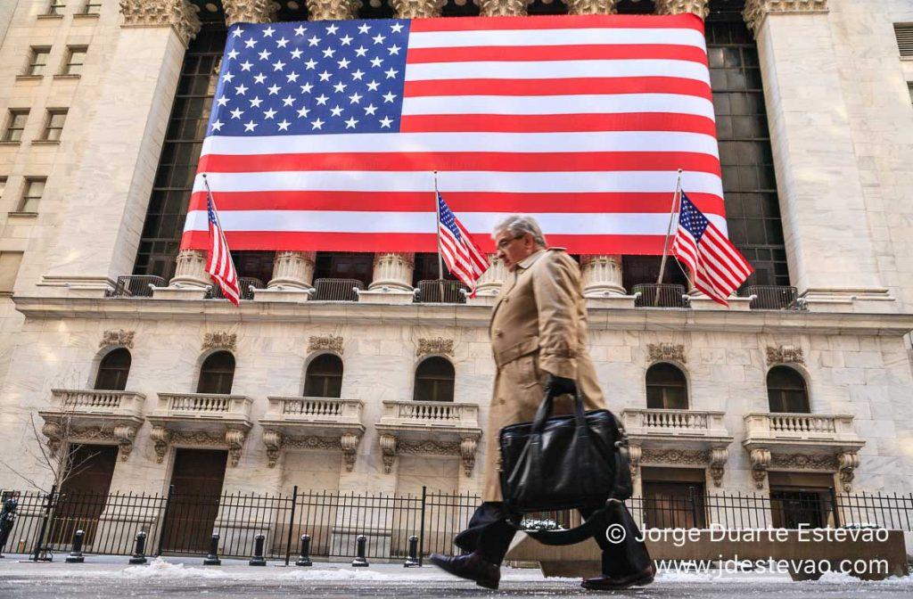 Bolsa de Valores de Wall Street, Nova Iorque, EUA