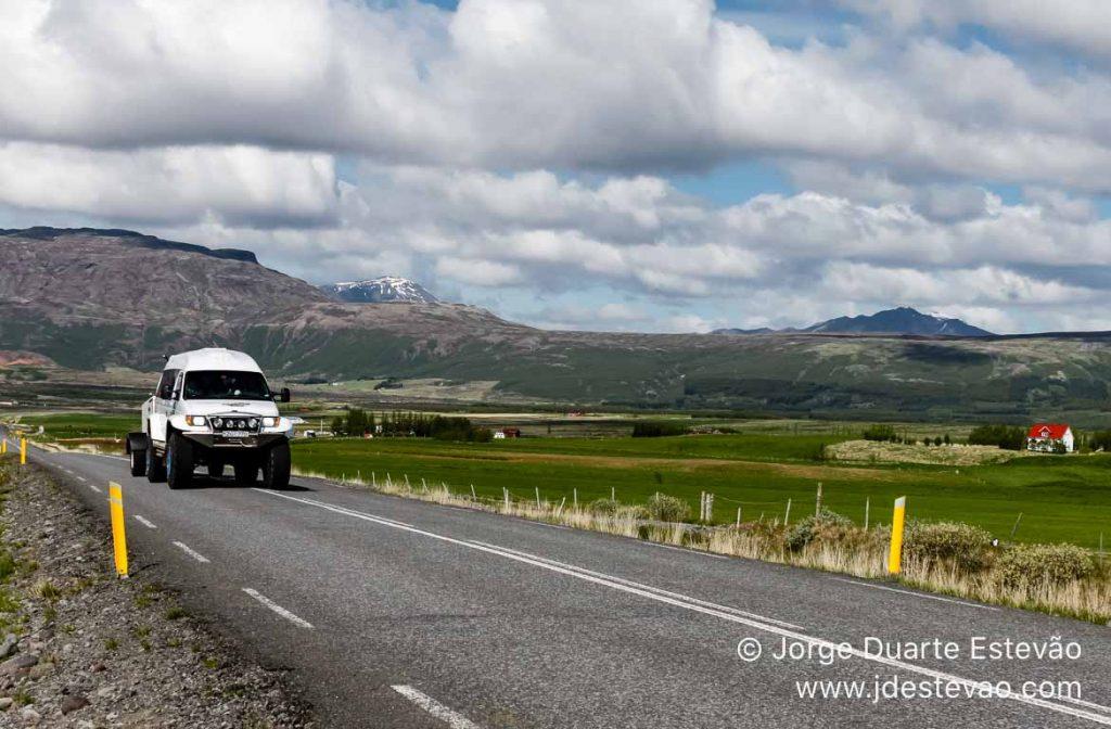 Carro 4x4 na Islândia, Golden Circle