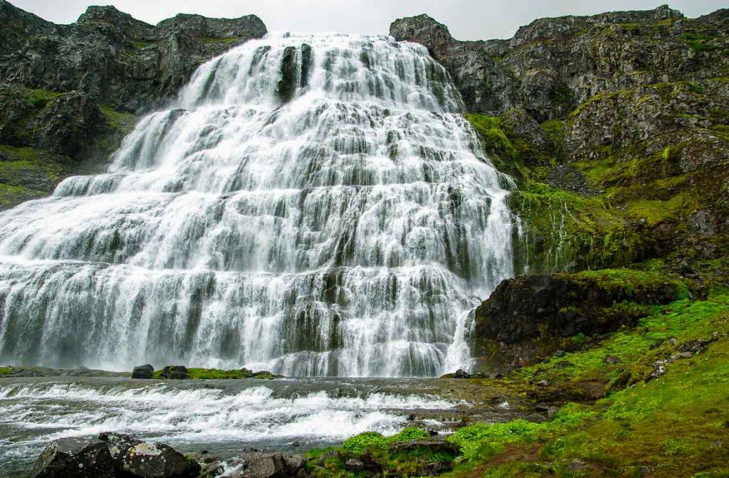 Cascata de Dynjandi, Islândia