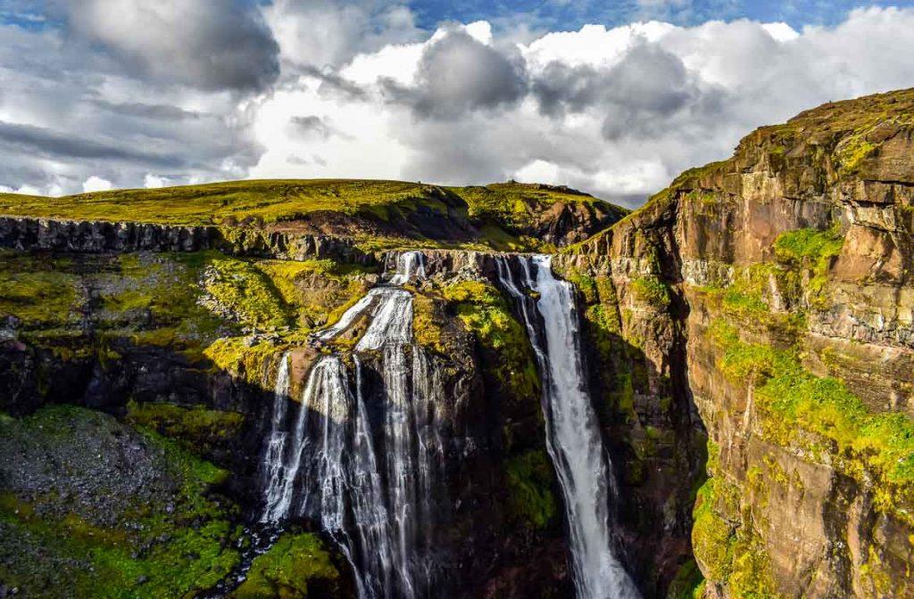 Cascata de Glymur, Islândia