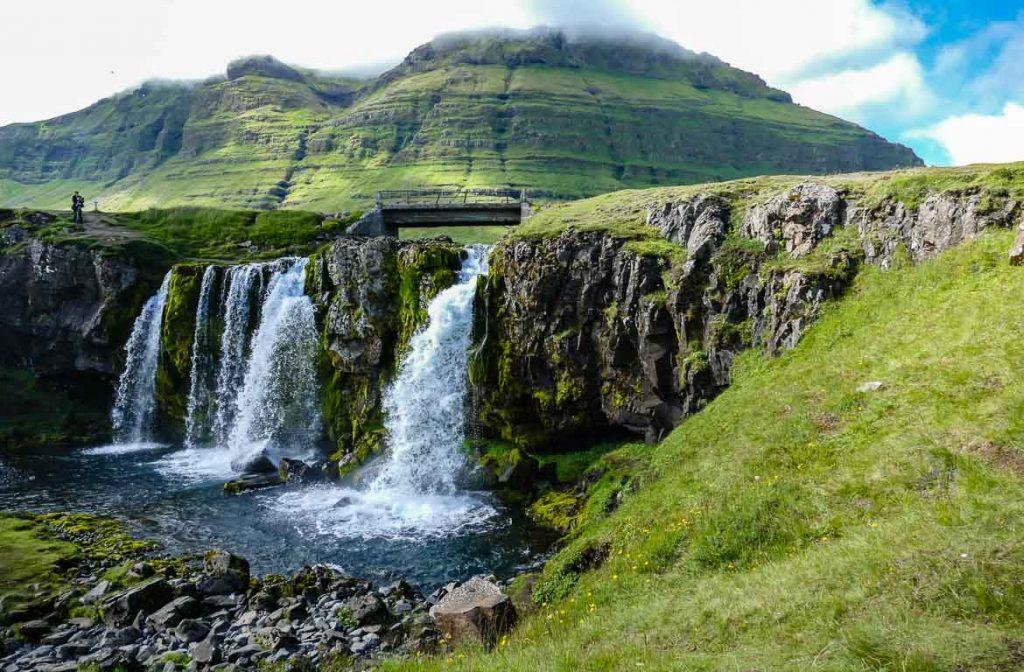 Catarata de Kirkjufellsfoss, Islândia