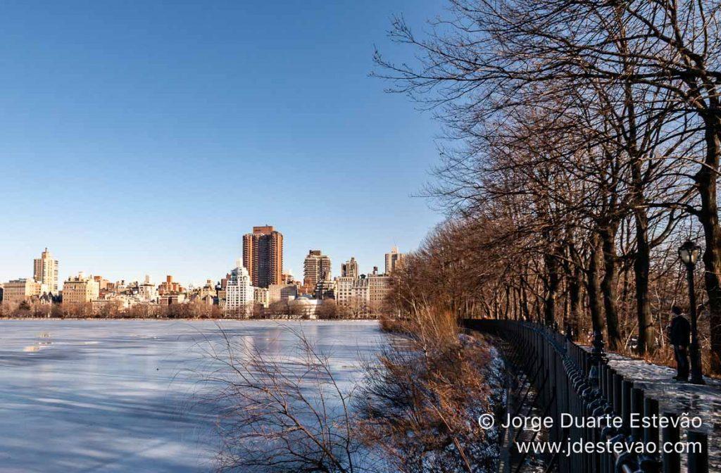 Central Park, no Inverno, Nova Iorque, EUA
