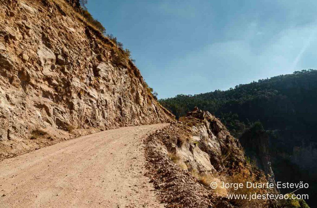 Estrada das Barrancas del cobre, México