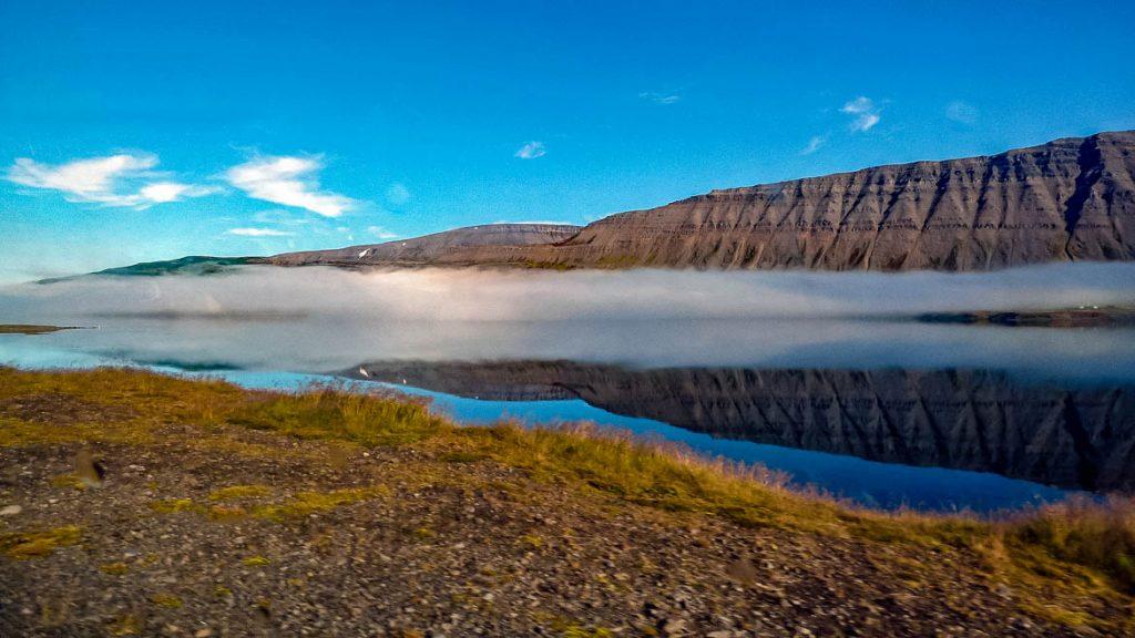 Fiorde Dyrafjordur, Islândia