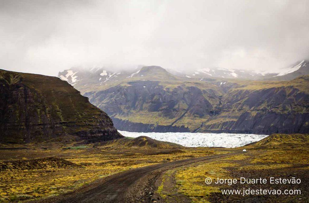 Glaciar de Mýrdalsjökull, Islândia