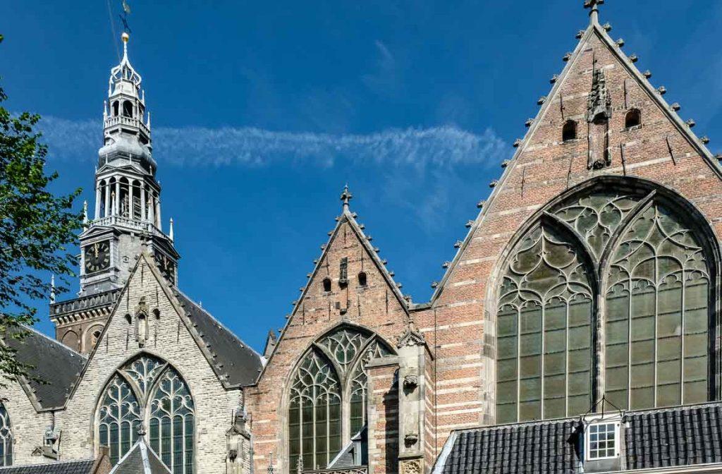 Igreja Oude Kerk, Amesterdão, Holanda