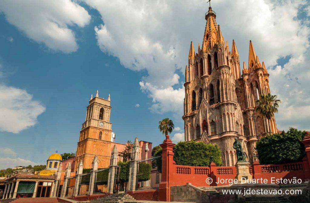 La Parroquia de San Miguel de Allende, México