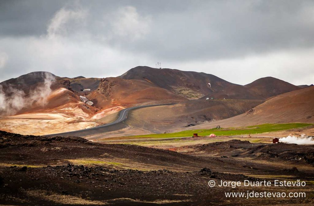 Lago Mývatn, Islândia