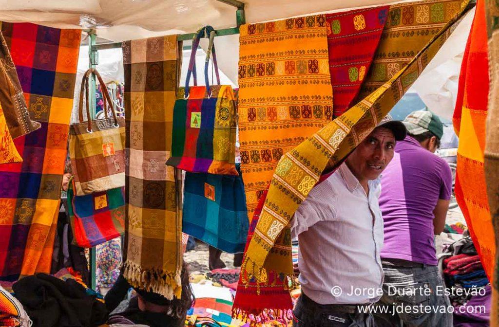 Mercado em San Cristóbal de las Casas, México