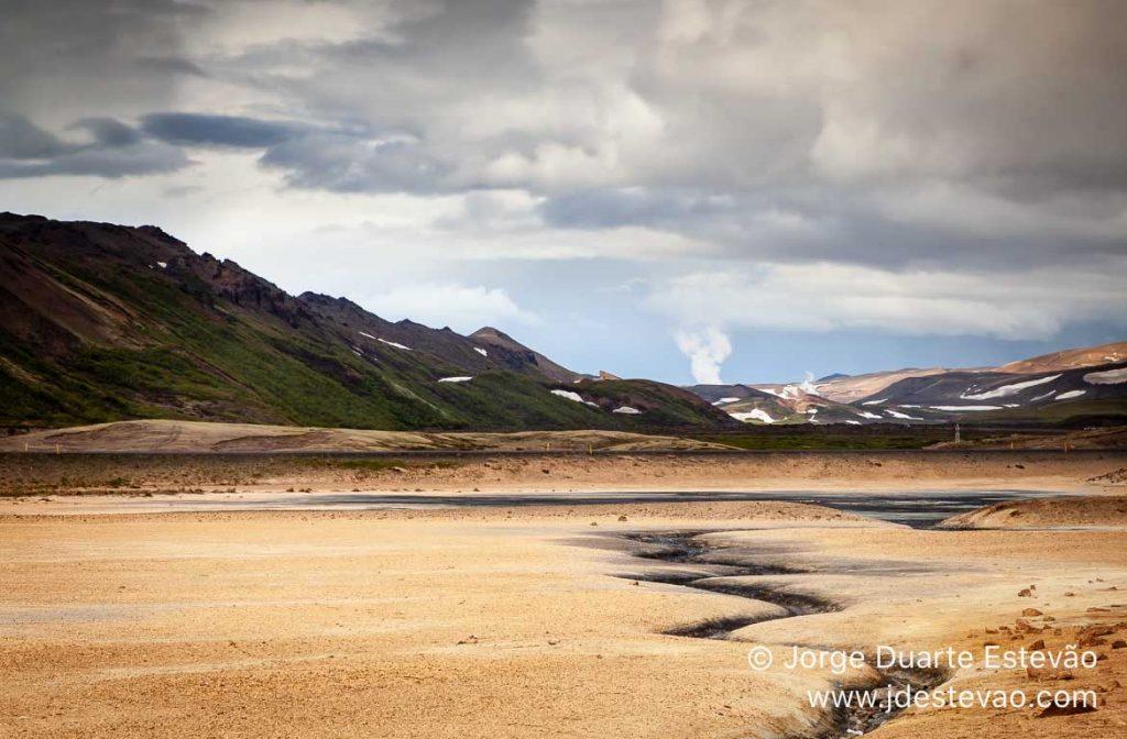 Námafjall, Lago Mývatn, Islândia
