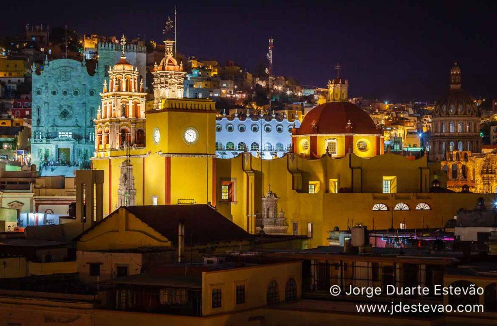 Noite e, Guanajuato, México
