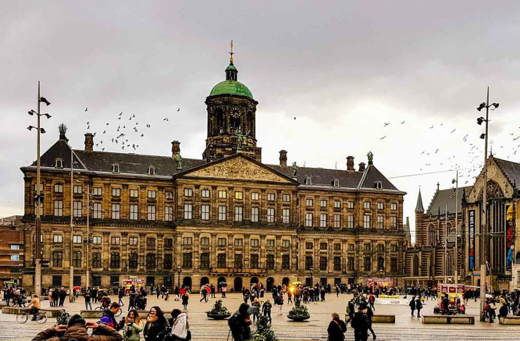Palácio Real, Amesterdão, Holanda