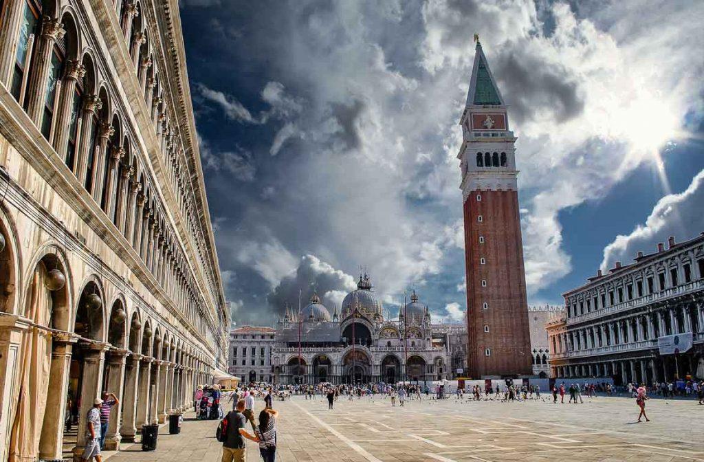 Piazza San Marco, Veneza, Itália