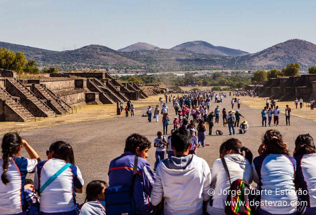 Pirâmides de Teotihuacan, Cidade do México