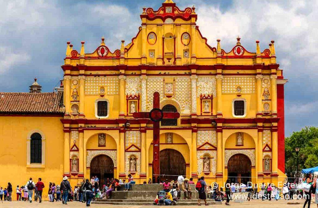 Catedral de San Cristóbal de las Casas, México