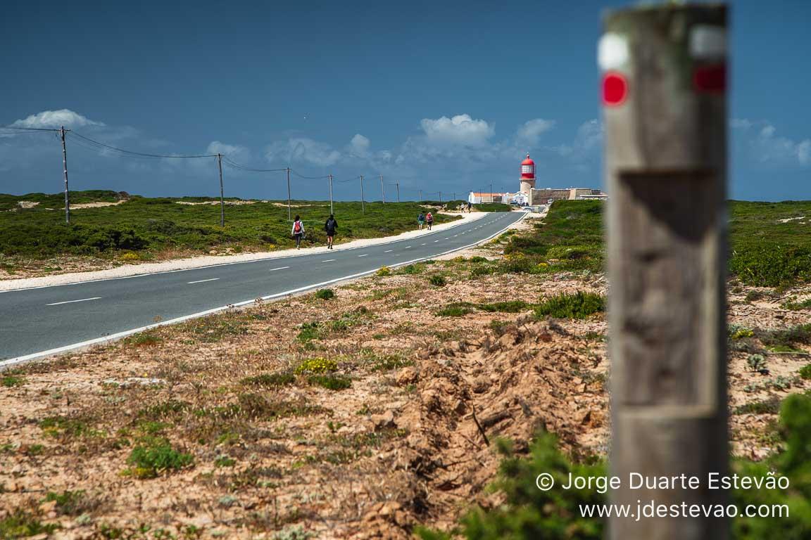 A caminhar para o Cabo de São Vicente, Sagres