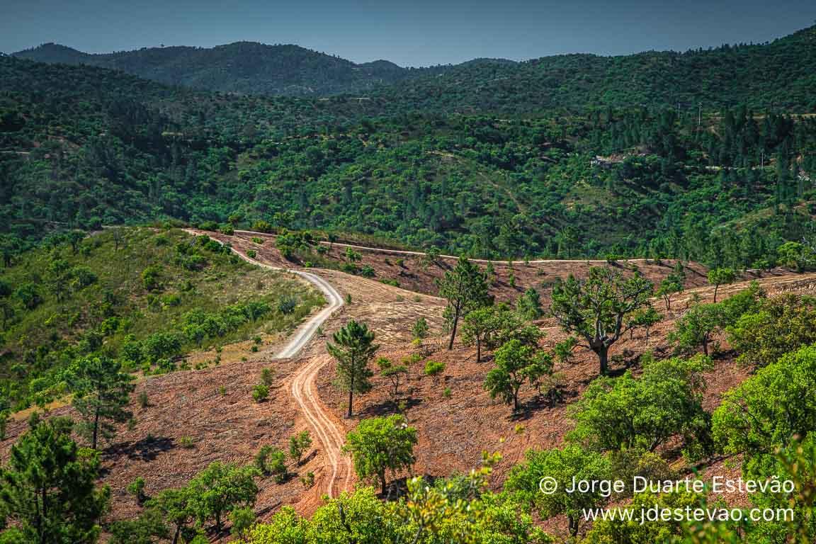Caminho pedestre da Serra do Caldeirão