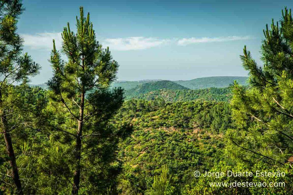 Vista panorâmica da Serra do Caldeirão