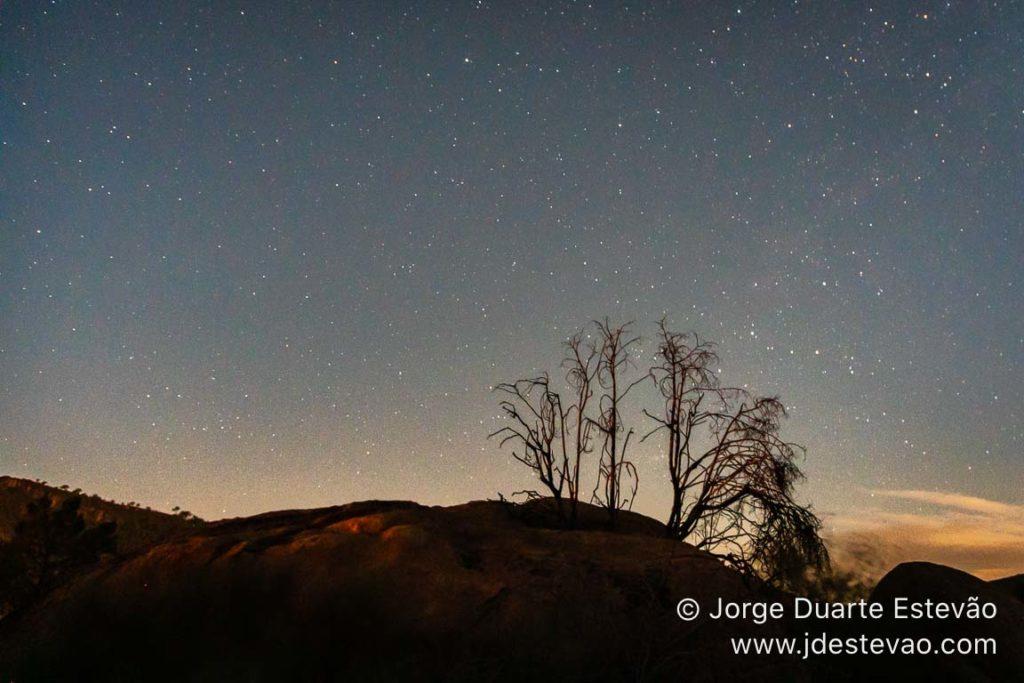 Observação das estrelas na Forca de Freixiel, em Vila Flor